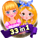 Download 33 in 1 Games For Girls 1.1.2 APK