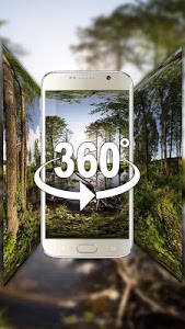 Download (3D VR Panoramic) Forest oxygen bar live wallpaper 2.0.9 APK