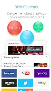 screenshot of APUS Browser - Fast Download version 1.5.3