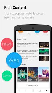 screenshot of APUS Browser - Fast Download version 1.8.0