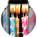 Download Abstract theme candles with stripes hmm space 1.0.2 APK