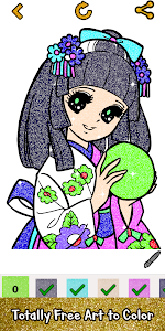 Download Adult Glitter Color by Number Book - Sandbox Pages 1.7 APK