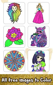 Download Adult Glitter Color by Number Book - Sandbox Pages 1.8 APK