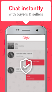 screenshot of letgo: Buy & Sell Used Stuff version 1.9.8