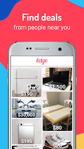 screenshot of letgo: Buy & Sell Used Stuff, Cars & Real Estate version 2.4.1