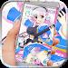 Download Anime music girl Theme 1.1.2 APK