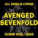 Download LYRICS COLLECTION OF AVENGED SEVENFOLD!! 2.0 APK