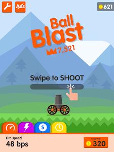 screenshot of Ball Blast version 1.9