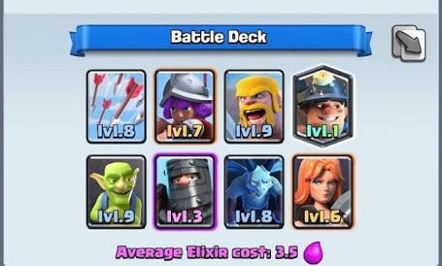 Download Battle Deck Clash Royale 1.0 APK