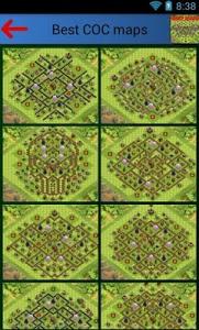 Download Best Clash of clans maps 2.40 APK