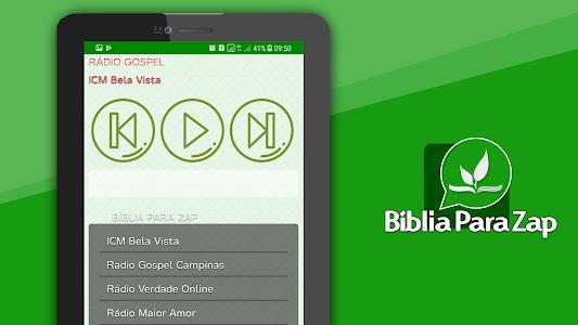 screenshot of Bíblia para Zap version 15.0.0