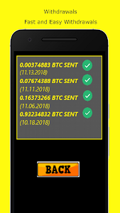 screenshot of Bitcoin Miner Cloud Pool - BTC Remotely manage version 1.3