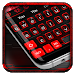 Download Black Red Keyboard Theme 10001005 APK