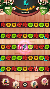 screenshot of Flower Blossom Jam - A Match 3 Puzzle Game version 11.600.21