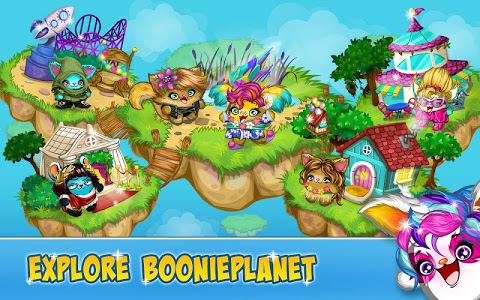 screenshot of BooniePlanet version 4.6.5