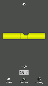 screenshot of Bubble level (No Ads) version 2.1.3