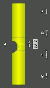 screenshot of Bubble level version 3.0.0