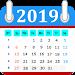 Calendar in English 2019 Free