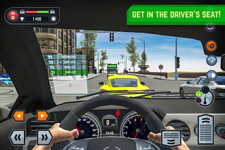 screenshot of Car Driving School Simulator version 1.5