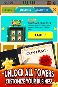 screenshot of Cash, Inc. Money Clicker Game & Business Adventure version 2.1.3.5.0