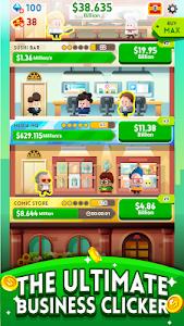screenshot of Cash, Inc. Money Clicker Game & Business Adventure version 2.0.4.2.0