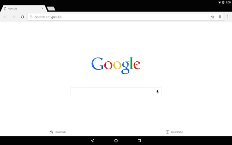 screenshot of Chrome Canary (Unstable) version Varies with device