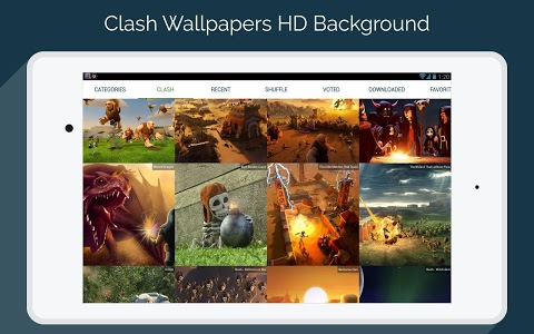 screenshot of Clash Wallpapers HD - Funny Layouts version 1.3.7