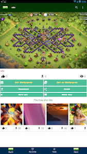 screenshot of Clash Wallpapers HD - Funny Layouts version 1.4.1