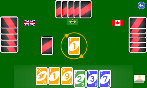 screenshot of Color number card game: uno version 1.1.7