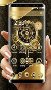 Download Clock Luxury Gold Theme 1.1.7 APK