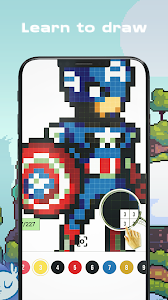 Download Color by Numbers - Super Heroes 3.1 APK