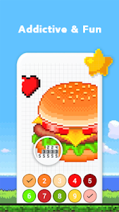 screenshot of Color by Numbers - Super Heroes version 3.1