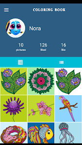 screenshot of Coloring Book For Adults - Mandala Coloring version 1.3.6