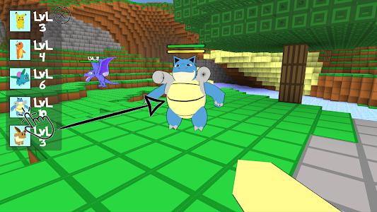 screenshot of Cube Craft Go: Pixelmon Battle version 10