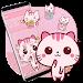 Download Cute Pink Kitty Theme Kawaii Sweet icon 1.1.3 APK