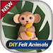 Download DIY Felt Animals step by step 1.2 APK