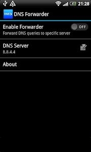 Download DNS forwarder 1.5 APK