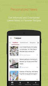screenshot of Dailyhunt (Newshunt) News version 7.0.21