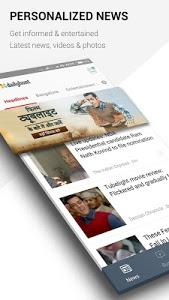 screenshot of Dailyhunt (Newshunt) News version Varies with device