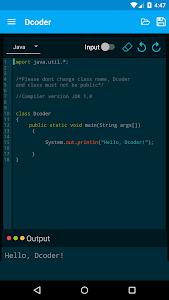Download Dcoder, Compiler IDE :Code & Programming on mobile 1.6.16 APK