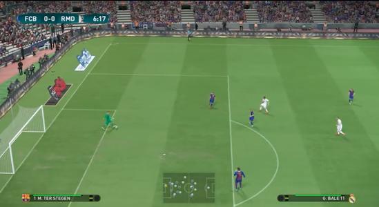 screenshot of Dream League 17 version 1.0