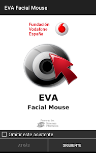 screenshot of EVA Facial Mouse version Varies with device
