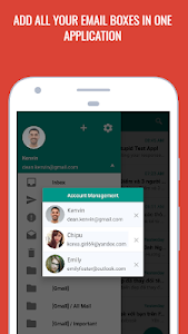 screenshot of EasyMail - easy & fast email version 2.8.2