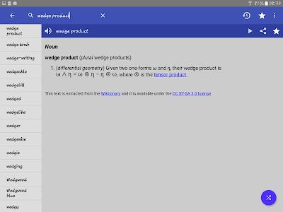 screenshot of English Dictionary - Offline version 4.1
