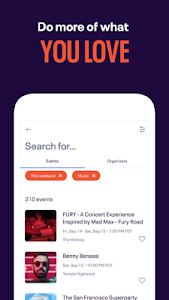Download Eventbrite - Discover popular events & nearby fun 6.0.1 APK