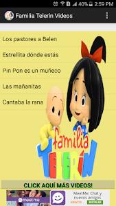 screenshot of Familia Telerin Videos version 2.0