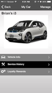 screenshot of Faulkner BMW version 2.3