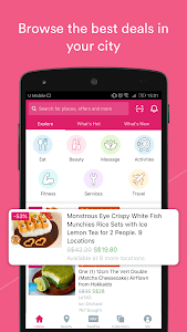 screenshot of Fave (previously Groupon) - Best Deals & Discounts version 2.14.0