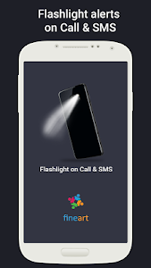 screenshot of Flash on Call and SMS version 5.1.8
