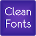 Download Fonts Clean for FlipFont® Free 9.09.0 APK